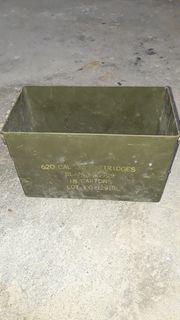 Munitionskiste ohne Deckel Kiste Metallbox