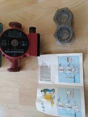 Wasserpumpe für Heizung Marke Grundfos