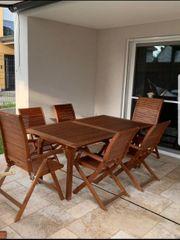 Garten Möbel Tisch mit Stühlen