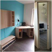 Jugendzimmer Kinderzimmer modern 4-tlg Schrank