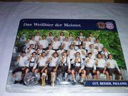 Blechschild Paulaner - 1 FC Bayern