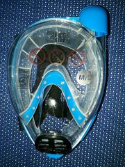 Cressi Schnorchel-Vollmaske Baron transparent blau