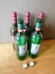 leere Flaschen-/Weinflaschen