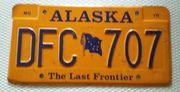Original Alaska KFZ Kennzeichen