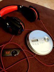 Sony CD Walkman Garming Headset