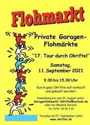 Privater Garagen-Flohmarkt in Okriftel am