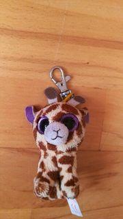 Glubschi Giraffe Schlüsselanhänger