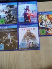 ps4 Playstation 4 spiele