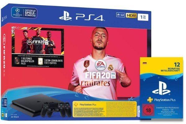 PS4 1TB FIFA20 2 Controller