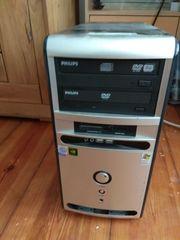 PC Pentium mit Monitor internet-tauglich