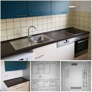 neuwertige Segmüller-Einbauküche mit Bosch-Elektrogeräten