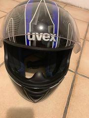 Motorradhelm Uvex