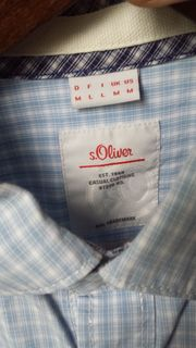 Herrenhemd S Oliver - neuwertig Größe