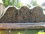 Brennholz trocken Kiefer Fichte - Kranverladung
