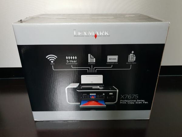 LEXMARK X7675 All-In-One Thermo-Tintenstrahldrucker wie