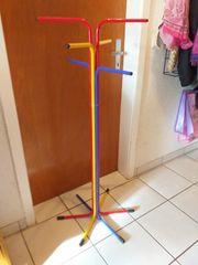 Gardarobenständer Kleiderständer bunt 120 cm