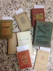 Alte Bücher Hefte einige aus