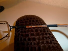 Designerbekleidung, Damen und Herren - JOOP-Brillengestell randlos unisex schwarz-braun-gold original