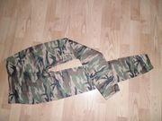 Damen Army Leggings Camouflage mit