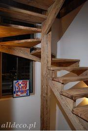 Treppen aus Altholz - Alldeco