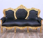 Barockstil 3-Sitzer