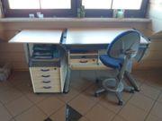 Moll Schreibtisch - Set neuwertig