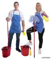 Reinigungs Arbeit