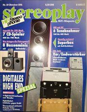 Verschiedene AUDIO Stereoplay STEREO-Zeitschriften aus