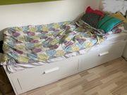 Ikea Hemnes Bett ausziehbar