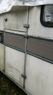 Alter Wohnwagen Marke Roller
