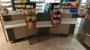 Hochwertige Ladentische und Laden-Regal