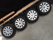 4x Original BMW Stahlfelgen mit