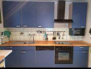 Moderne Küche in blau