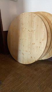 Banketttische rund 200cm Durchmesser