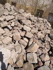 Sandsteine Mauersteine Bruch handgeschlagen historisch