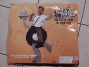 2 x Crazy Straußenreiter Kostüm - Huckepack