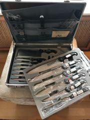 Edelstahl Messer Set Profiline handgearbeitet