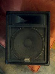 2 Stück Peavey Monitorboxen