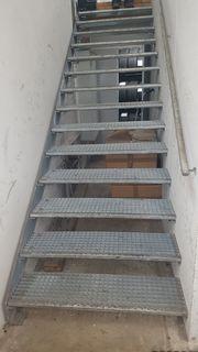 Stiege Treppe