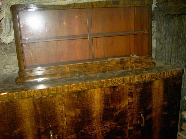 Wohnzimmerschrank - Kirschholz alt