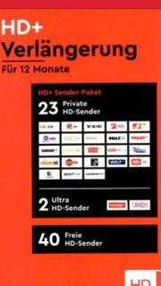 HD Plus Verlängerung für 12