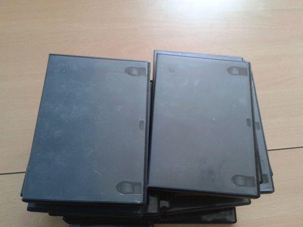 DVD Hüllen schwarz