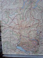 Alte Landkarten aus ex Jugoslavien