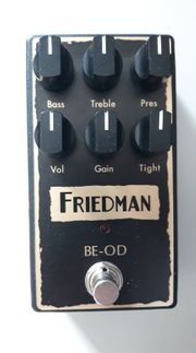 RESERVIERT - Friedman BE-OD Pedal Overdrive