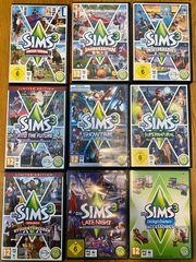 9 Sims 3 Erweiterungspacks einzeln