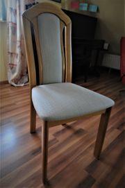 6 Stück Esszimmerstühle - Massiv-Eiche