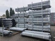 Fassadengerüst mit 3m Stahlboden 58