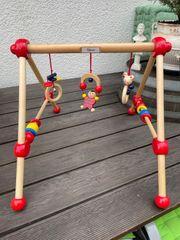 Spielbogen Holz Holzspielbogen Spielzeug Baby