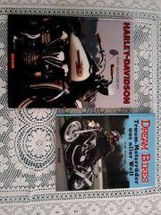 2 tolle Motorradbücher Harley ect
