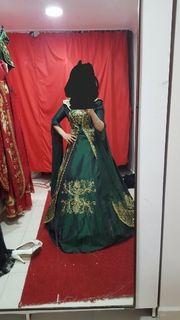 bindanlli kaftan ballkleid hennakleid kleid